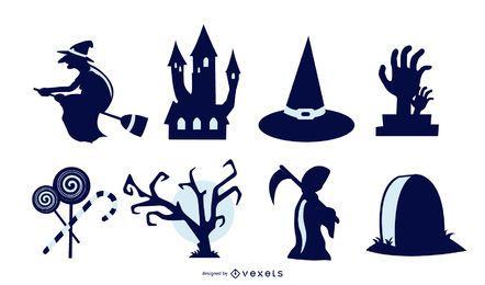 Halloween-Vektorsammlung