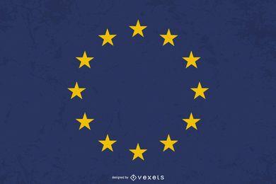 Bandeira da Europa Design gráfico
