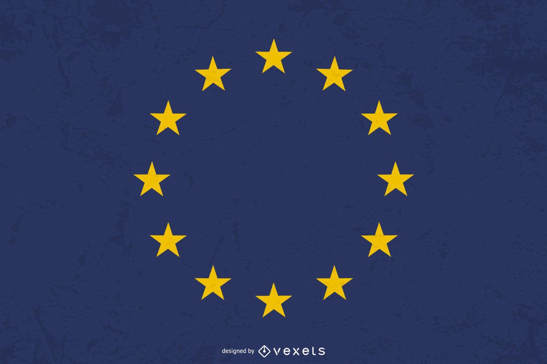 Flag of Europe Graphic Design