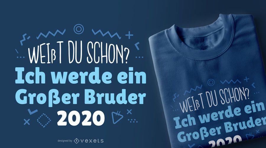 Big brother 200 german t-shirt design