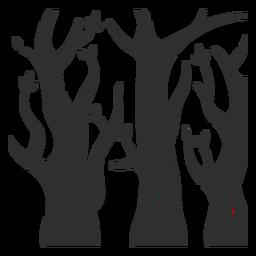 Árvore da floresta negra
