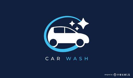 Autowasch-Logo-Design-Vorlage
