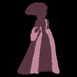 18th century lady fancy duotone