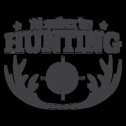 Antler prefiere estar cazando insignia