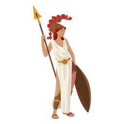 Atenea dios griego