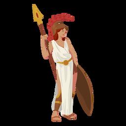 Griechischer Gott der Athene