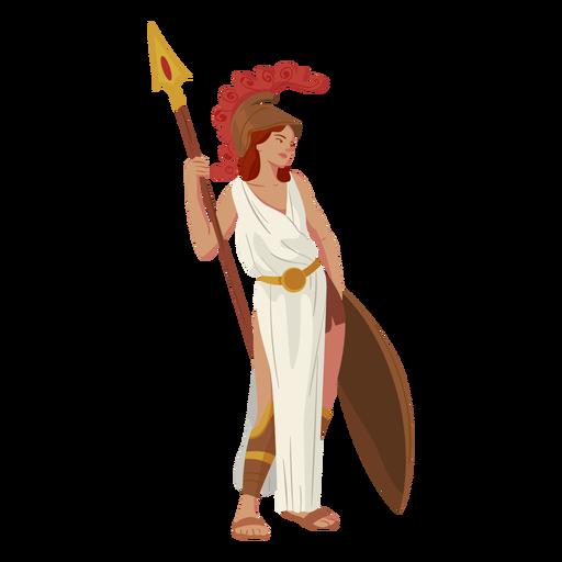 Deus grego atena Transparent PNG