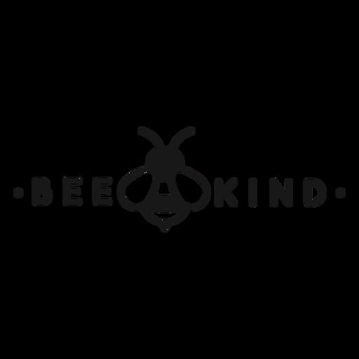 Sea amable juego de letras abeja Transparent PNG