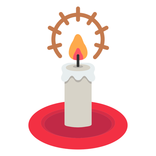 Christmas candle icon christmas Transparent PNG