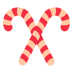 Christmas candy cane icon christmas