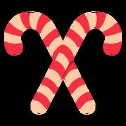 Icono de bastón de caramelo de navidad navidad