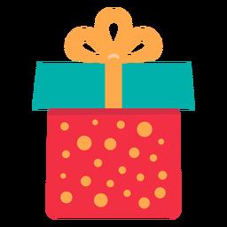 Icono de caja de regalo de navidad