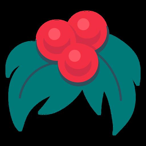 Christmas mistletoe icon christmas
