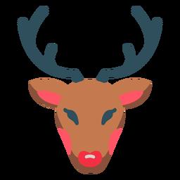 Icono de Rudolph Reno de Navidad