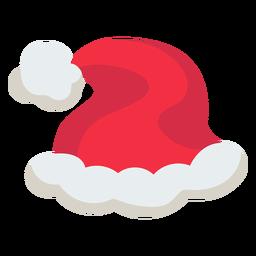 Icono de gorro de navidad santa