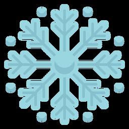 Icono de copo de nieve de navidad