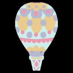 Círculos balão azul