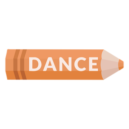 Color pencil school subject dance icon