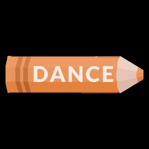 Color pencil school subject dance icon Transparent PNG
