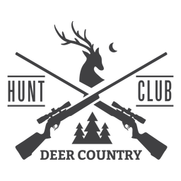 Logotipo do clube de caça ao veado