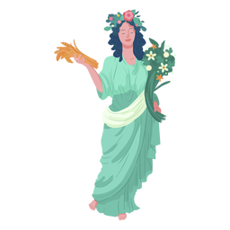 Demeter griechischer Gott
