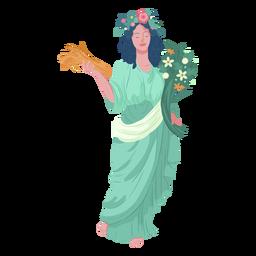 Deus grego de Deméter