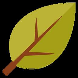 Flaches Blattsymbol