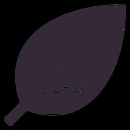 Plantilla de símbolo de hoja plana