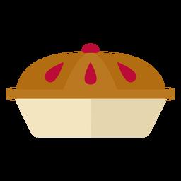 Flat pie symbol