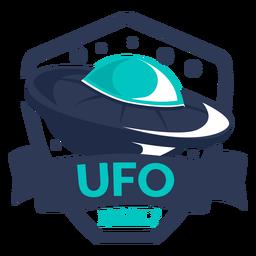 Fun alien ufo real badge
