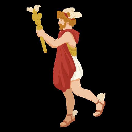 Hermes deus grego Transparent PNG