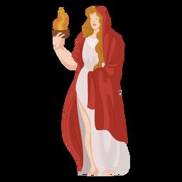 Dios griego Hestia