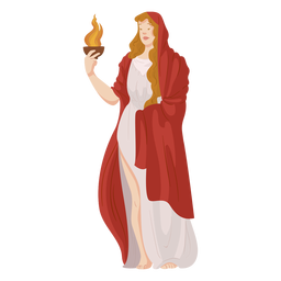 Hestia griechischer Gott