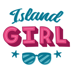 Letras hawaianas de Island Girl