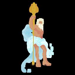 Poseidon griechischer Gott