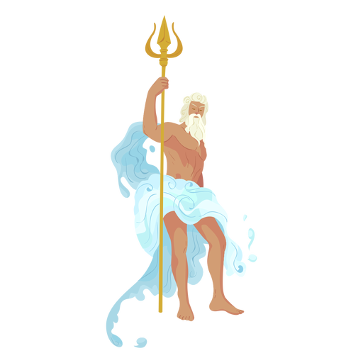 Dios griego Poseidon