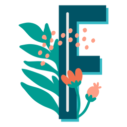 Tropical maiúscula decorada f