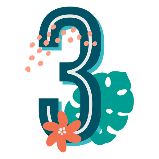 Tropical decorated number 3