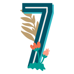 Tropical decorated number 7