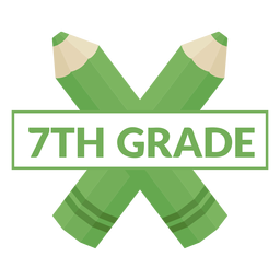 Escola de lápis de cor 7ª série ícone