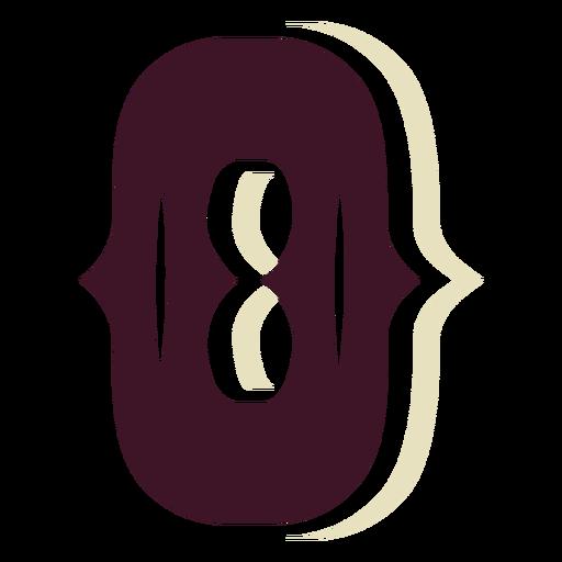 Western block capital letter o