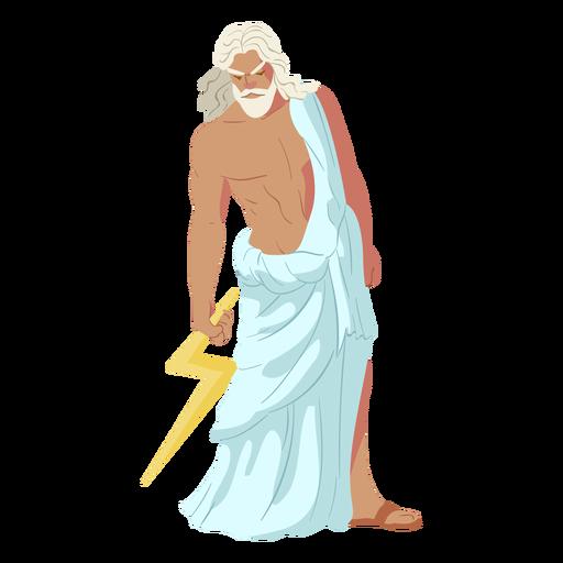 Dios griego zeus Transparent PNG