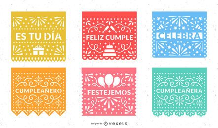 Papel Picado Party Design Set