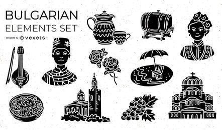 Bulgarian Elements Silhouette Pack