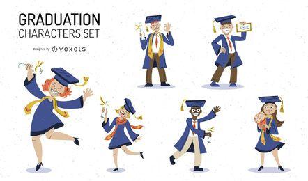 Conjunto de caracteres de graduación