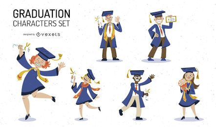 Graduation character set