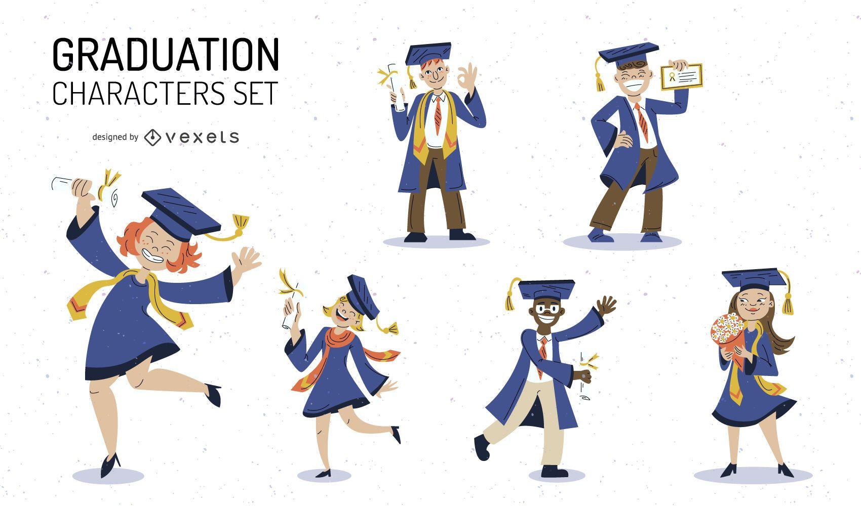 Graduation character set