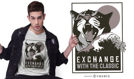 Exchange classic t-shirt design