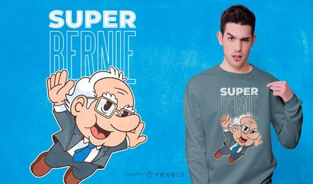 Design de camiseta super bernie
