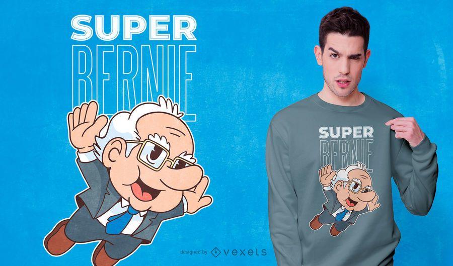 Super bernie t-shirt design